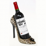 wine in shoe