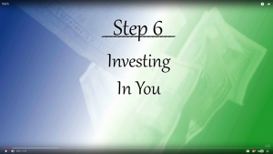 Your Journey - Step 6: Investing In You