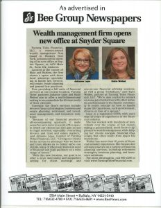 Wealth management firm opens new office at Snyder Square | Bee Group Newspapers